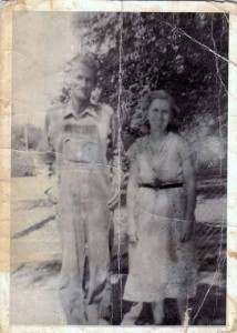 Photo of Grandma & Grandpa Winnard