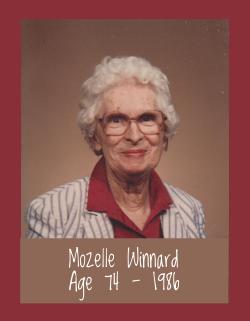 Mozelle Winnard, Age 74
