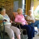Phyllis Rich, Betty Culpepper and Irene